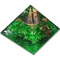 Peridot Grün Orgonit Pyramid/Reiki Crytsal Pyramiden zur Heilung und Chakra Home Dekoration 65mm mit Tasche preisvergleich bei billige-tabletten.eu