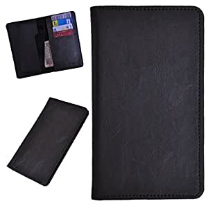 DCR Pu Leather case cover for iBall Andi Uddaan (grey)