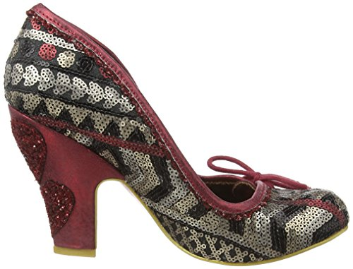 Irregular Choice - Flexi Lexi, Scarpe col tacco Donna Rosso (Red (Red Multi))