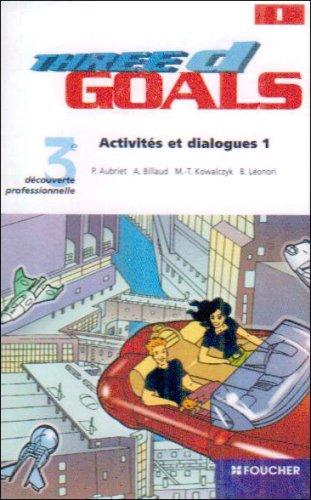 Three d Goals 3 Découverte Professionelle - K7 audio(pack de3)