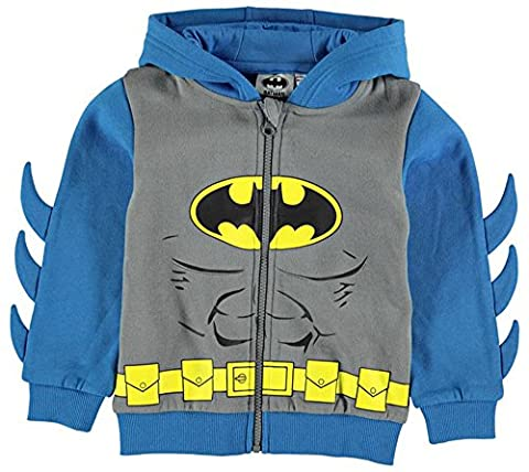 Infant Boys Printed Hooded Full Zip Hoody Top (4-5 Yrs,