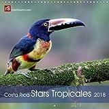 Costa Rica Stars Tropicales 2018: 12 Stars Colorees De La Faune Tropicales Du Costa R...
