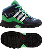 adidas Kinder Stiefel TERREX MID GTX I core blue s17/chalk white/energy green s17 23