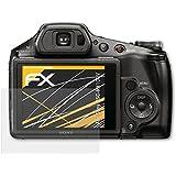 3 x atFoliX Protecteur d'écran Sony DSC-HX100V Film Protection d'écran - FX-Antireflex anti-reflet