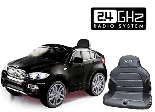 bmw-x6-nera-original-licenza-2x-motore-batteria-12v-telecomandochiave-macchina-bambino