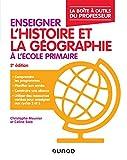 Enseigner l'histoire et la géographie à l'école primaire - La boîte à outils du professeur - 2e éd