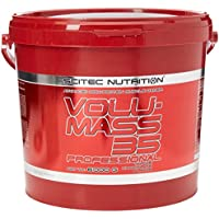 Scitec Nutrition Volu-Mass 35 Professional Muscle Gainer Formula - 6000g, Triple Chocolate