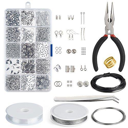 Kuuqa Jewelry Making Kit Resultados de la joyería Kit de inicio Joyas...