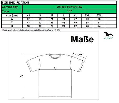 T-Shirt für Herren Shirt Heavy Marineblau