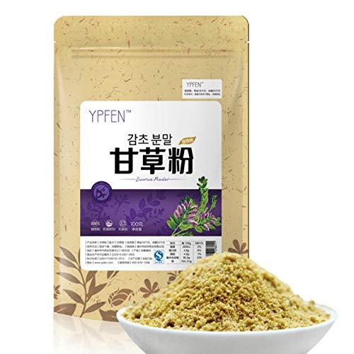 100g (0.22LB) Bestnote 100% reines Natur-organisches Lakritze-Extrakt-Pulver-Süßholz-Wurzelkräutertee duftender Tee Blumentee Botanischer TeeKräutertee Grüner Tee Roher Tee Blumentee chinesischer Tee - Süßholz-wurzel-kräuter-tee