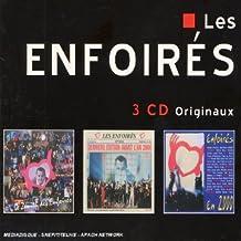 Coffret 3 CD : Le Zénith des Enfoirés / Dernière Edition avant l'an 2000 / Les Enfoirés en 2000