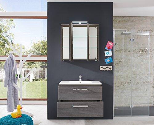 Spiegelschrank Bad Holz von trendteam 75 cm - 4