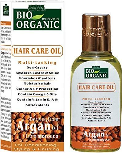 Indus valley bio organic argan hair repair olio per capelli marocchino 60 ml (argan moroccan oil)