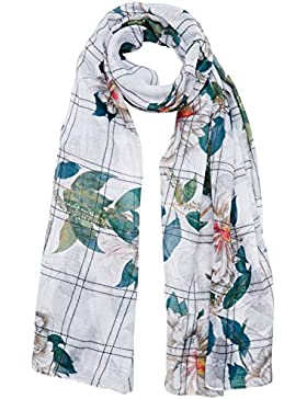 Desigual Foulard_rectangle Troy, Bufanda para Mujer