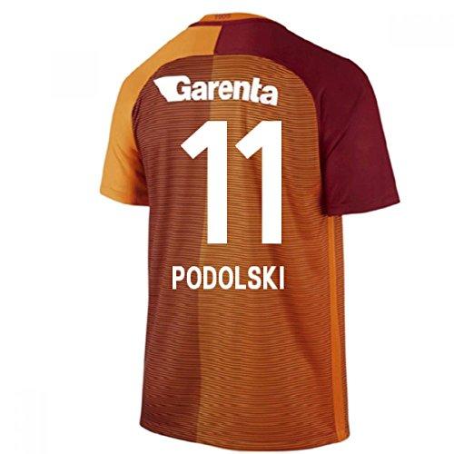 2016-17 Galatasaray Home Shirt (Podolski 11)