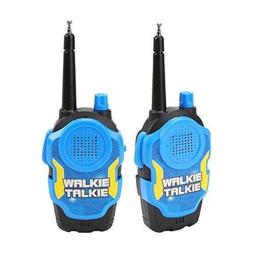hou zhi liang Kinder Spielzeug Walkie Talkie Two Way Radios Hühnerhabicht Long Range UHF-Handmikrofon Kinder Outdoor Spielzeug Handy für Kinder Tag/Geburtstag/Weihnachten Geschenk (Blau) 2 -