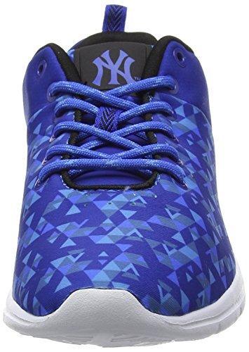 New York Yankees Baphomet, Baskets Basses Homme Bleu (Classic Blue/Black)