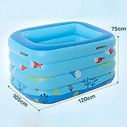 global 105 120 75cm del fumetto pieghevole vasca da bagno per bambini piscina
