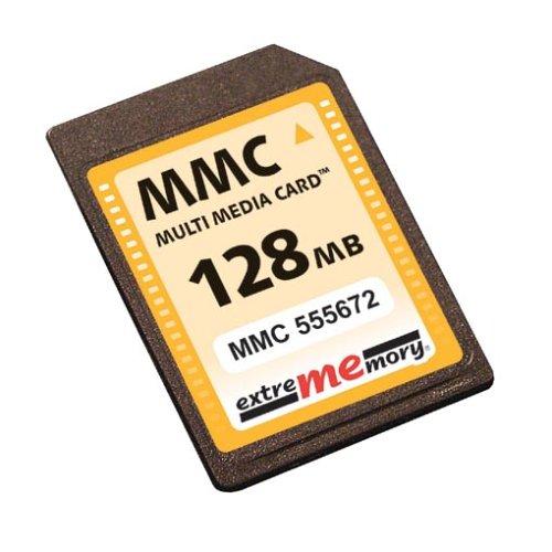 Galleria fotografica Extrememory FL-MMC/128/EM 128MB multi media card