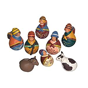 Discount Etnico - Presepe Terracotta Set. Misura H.7 cm