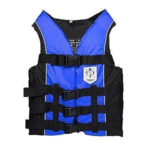 51S4QUGubzL. SS300  - 50N Buoyancy Jacket Adults Unisex Floatation Aid (Blue, M)