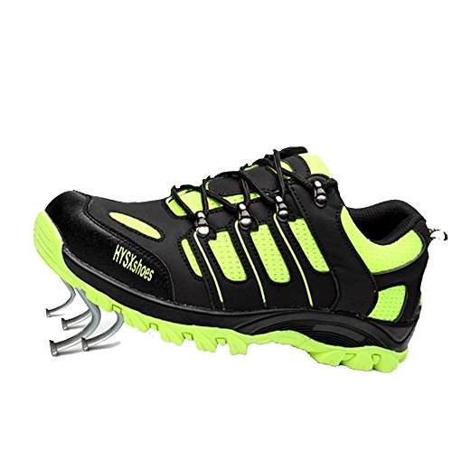 SUADEEX Uomo Donna Scarpe da Lavoro Antinfortunistiche con Punta in Acciaio S1 Unisex-Adulto Scarpe Sportive di Sicurezza Sneaker Stile
