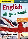 English all you need: Englisch auf Reisen