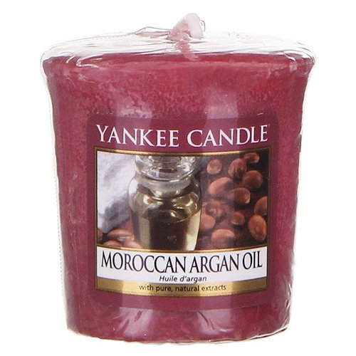 YANKEE CANDLE 1332208e - Votive/Sampler - marocain Huile d'Argan (Red)