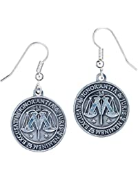 Harry Potter Pendientes Ministry of Magic (plateado)