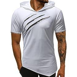 Camisetas Hombre Manga Corta Blusas Originales Tees s Ropa Moda Hombre