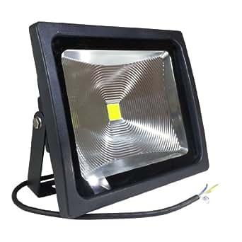 V-TAC 5323 VT-4750 Projecteur LED 50 W 6000 K (blanc froid) IP 65 3900 lm Équivalent halogène : 200 W