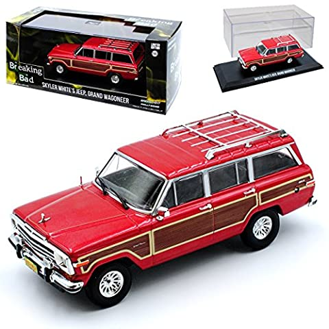 Jeep Grand Wagoneer Cherokee SJ Skyler White Breaking Bad 1963-1991 1/43 Greenlight Modell Auto
