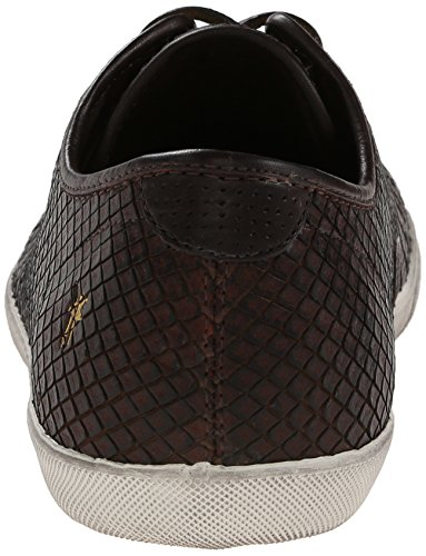 FRYE Mens Chambers Cap Low Fashion Sneaker Dark Brown - 81542