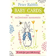 Peter Rabbit Baby Cards: for Milestone Moments (Beatrix Potter Gift Book)