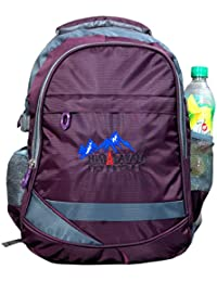 Himalayan Adventures 25 Ltrs Purple, Backpack/Rucksack/Travelling Bag/Hiking Bag/Adventure Bag/Camping Bag (Nylon...