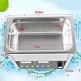 Edelstahl-Industrie-Ultraschallreiniger erhitzte Reinigungs-Behälter-Maschine (15L)
