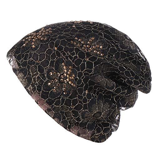CixNy Turban Hüte, Beanie Schal Kopfbedeckung Kopftuch Fedora Hut Handgefertigt Krebs Chemo...