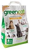 Greencat Lettiera per Gatti a Base d'Orzo 6 Litri