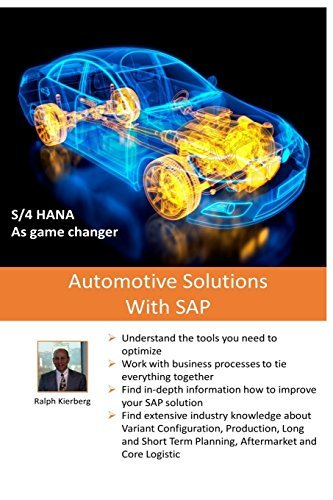 Automotive Solutions with SAP: Essential Practice Reference by Ralph Kierberg (2015-11-01) par Ralph Kierberg