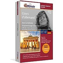 Cours d'allemand : coffret complet (A1-C2). Logiciel pour Windows/Linux/Mac OS X. Apprendre l'allemand avec la méthode unique d'apprentissage à long terme