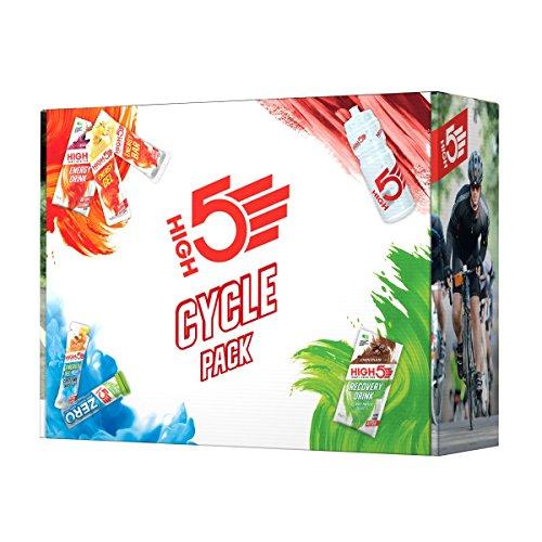 High5 High5 Pack De Ciclismo - Selección De Productos De Recuperación De Energía E Hidratación Deportiva Para Ciclismo 810 g