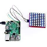 geeekpi 8x 8farbigem RGB-LED-Matrix-Modul für Arduino-Like STM32Für Raspberry Pi 3Modell B