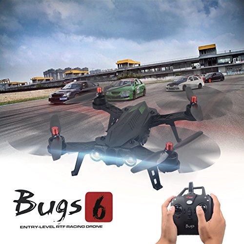 MJX B6 Bugs6 Drone Smart Transmitter Alarmfunktion Quadcopter Unterstützen GoPro Kameras und Sportkameras mit Brushless Motor / High Capacity Battery / Verbessern Propeller von TIME4DEALS - 5
