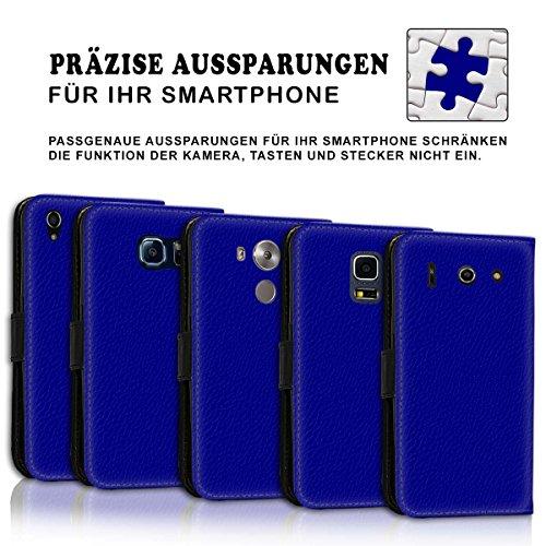 Wallet Book Style Flip Handy Tasche Case Schutz Hülle Schale Motiv Etui für Apple iPhone 4 / 4S - Variante UMV9 Design12 Design 1