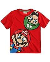 Super Mario Bros. Tshirt, rot, Gr. 104-140