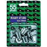 55 tacchetti in alluminio per rugby, ricambi. BS6366.