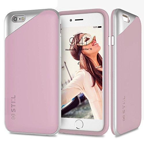 stil-masquerade-funda-rigida-exclusiva-de-gama-alta-para-iphone-6-6s-47-acabado-mate-liso-rosa-paste