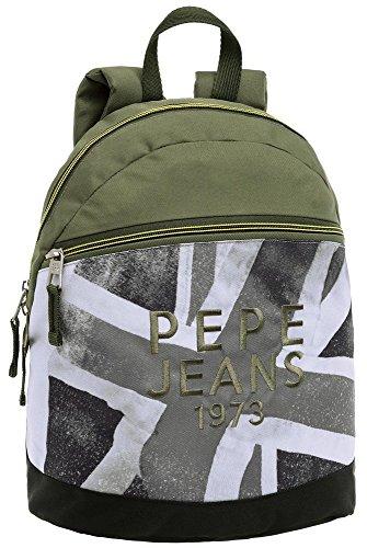 Imagen de pepe jeans otto  escolar, 9.6 litros, color verde