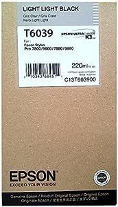 Epson T6039 Tintenpatrone Singlepack Hell Hell Schwarz