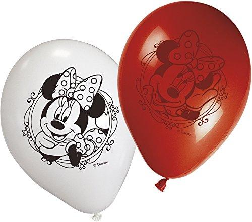 Unique Party Supplies Moderne Wimpelkette/Flagenkette mit Aufdruck von Disneys Minnie Maus, 2,6m lang